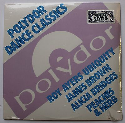 """Roy Ayers Ubiquity James Brown Sealed Polydor Disco Funk 12"""" 1985"""