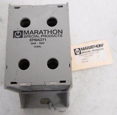 Marathon Epbad71 Power Distribution Block 580a 600v