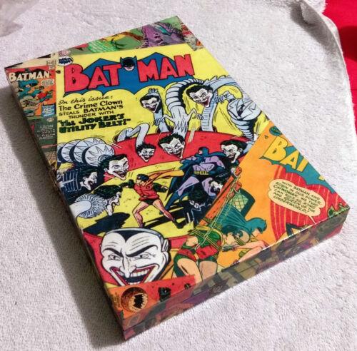 Batman Decoupage Wooden Box Handcrafted