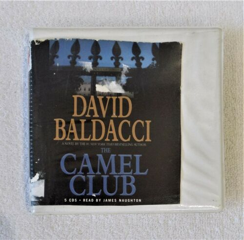 CD Audiobook CAMEL CLUB by David Baldacci Abridged 5 CDs 2005 Hard Spiral Case