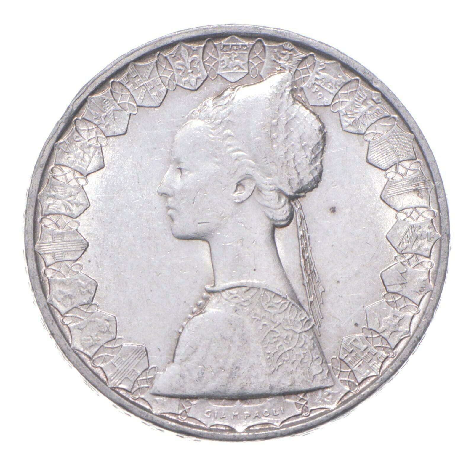 SILVER - WORLD Coin - 1960s Italy 500 Lire - World Silver Coin 367 - $13.06