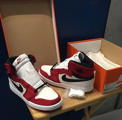 "Air Jordan 1 Retro KO High OG ""AJKO"" ""Chicago"" 638471-101 White/Gym Red-Black"