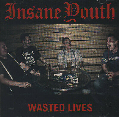 Wasted Youth (INSANE YOUTH-WASTED LIVES CD Oi!Oi!Oi! Skin Way of Life/Streetpunk)