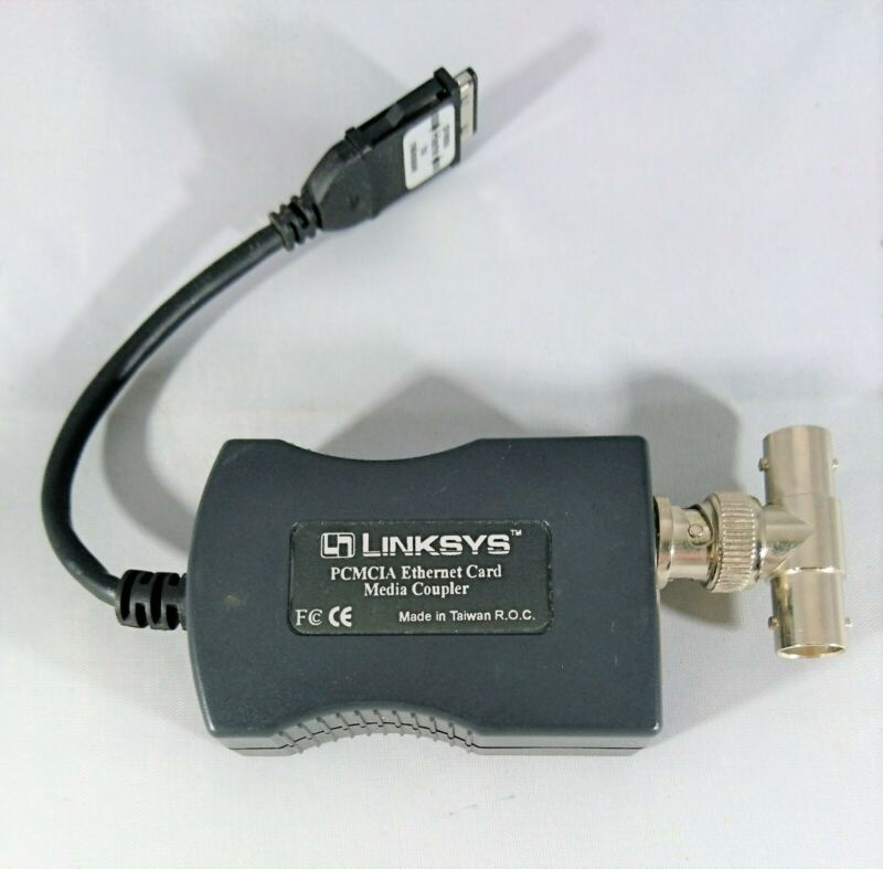 Linksys PCMCIA Ethernet Card Media Coupler