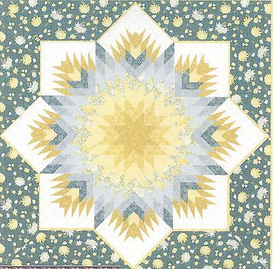 Blooming Lone Star quilt pattern by Jackie Robinson of Animas (Blooming Star)