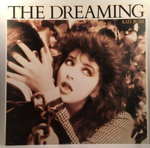 "KATE BUSH The Dreaming 1982 EMI promo poster flat 12""X12"" ST 17084"