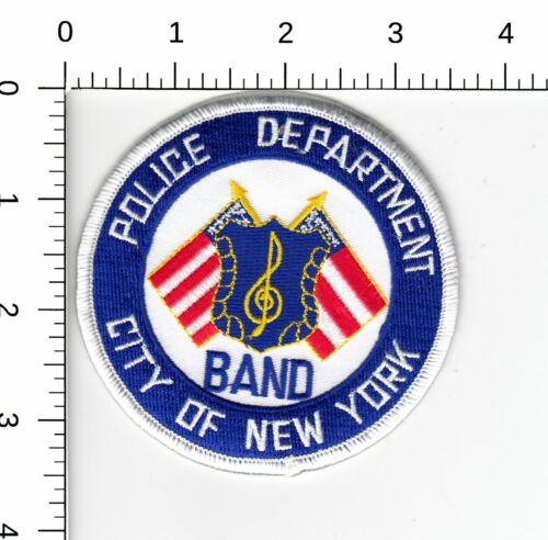 CITY OF NEW YORK POLICE DEPARTMENT > BAND < PATCH NY