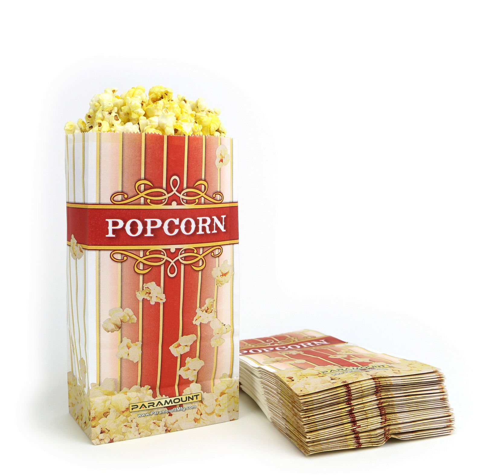 100-popcorn-serving-bags-small-standalone-flat-bottom-paper-bag-style