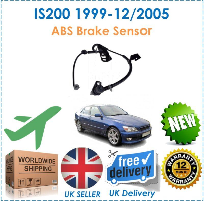 For Lexus IS200 1999-12/2005 2.0 Front Left ABS Anti Lock Brake Sensor New