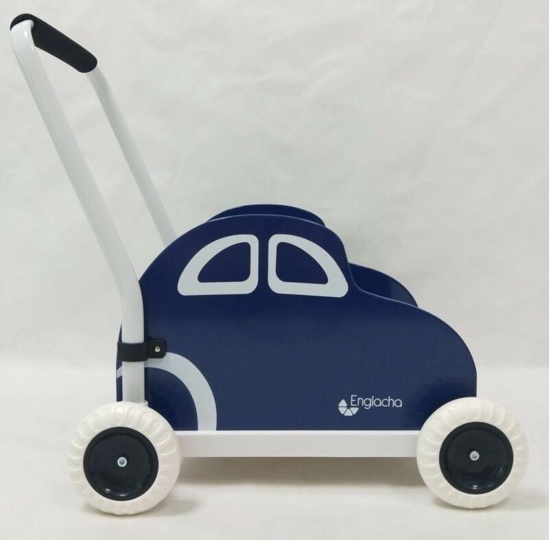 Englacha car Musical Toddler walker - Blue
