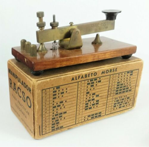 OLD RACSO TELEGRAPH KEY - MORSE - FROM 1930