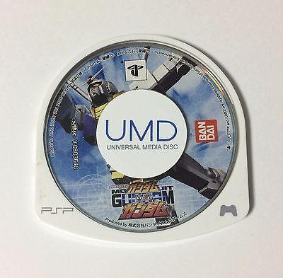 USED PSP Disc Only Mobile Suit Gundam Gundam VS. Gundam JAPAN import Japanese