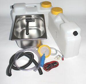 12V Miniküche Technikset Wohnmobil Bausatz Spüle 325x265x150mm Lo. Für Westfalia