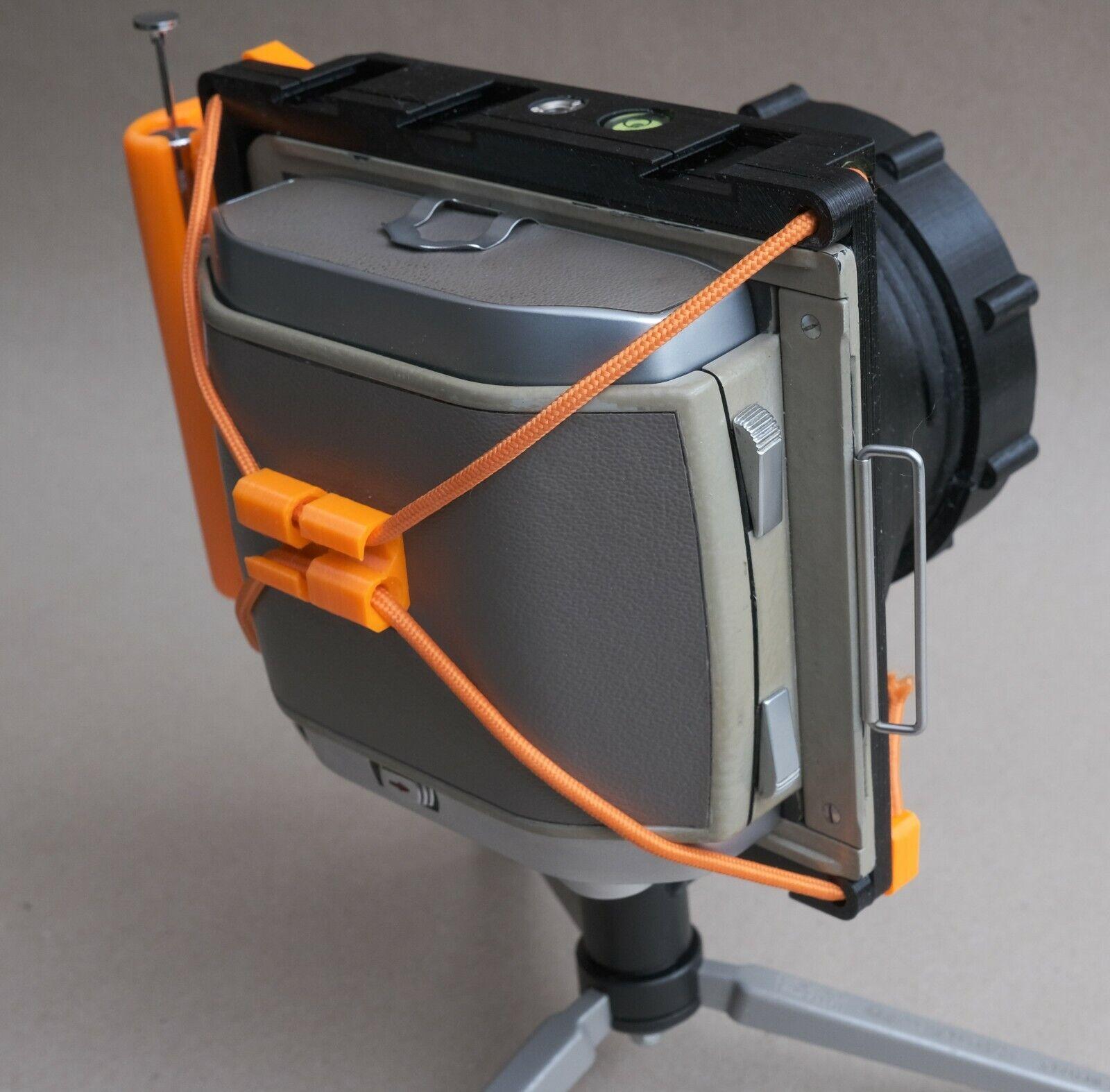 как выглядит 3d printed - WillTravel 4x5 camera for your focal length фото