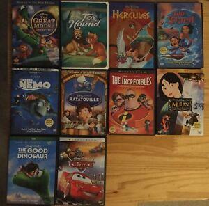 Disney & Pixar DVDs