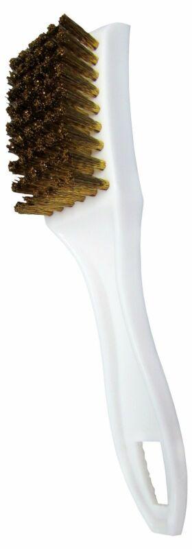 Star brite Small Plastic Utility Brush With Brass Bristles