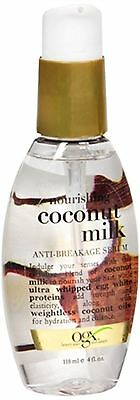 OGX Nourishing Coconut Milk Anti Breakage Serum, 4 Ounce