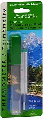 Geratherm Thermometer Oral Mercury Free 1 Each