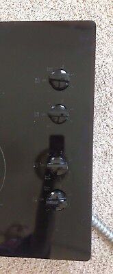 "GE 30"" Built In Knob Control Electric Cook JP3030DJ2BB 4 burner flat top stove"