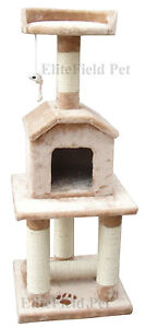 EliteField-Cat-Tree-Furniture-Condo-House-Scratcher-Bed-Toy-Post-EFCT-3045