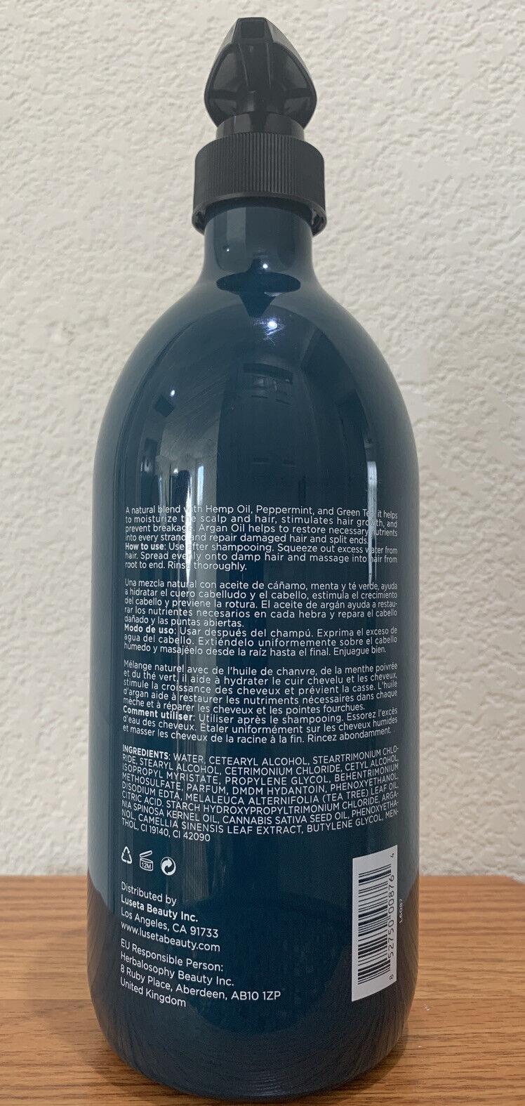 Luseta HEMP OIL COMPLEX Nourishing Conditioner w/ Hemp Oil, 33.8 fl oz New 1
