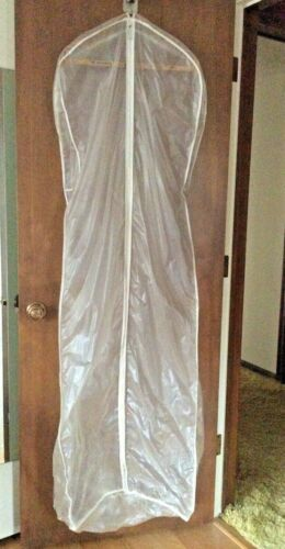 "Large Long Garment Storage Bag: Formals Wedding, Maxi Clothes 70"" X 24""  x 4-14"