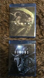 2 new, never watched, 'Alien' series Blu-ray movies