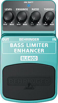 Behringer BLE400 Bass Limiter Enhancer - the Ultimate Dynamics Effects Pedal