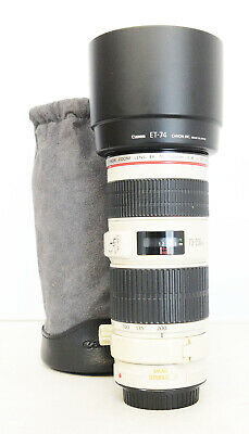 # Canon EF 70-200mm F/4L IS USM S/N 416027