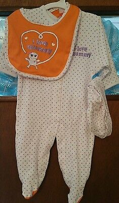 **NWT** ADORABLE 3PC I LOVE MY MUMMY HALLOWEEN - Halloween Outfits Target