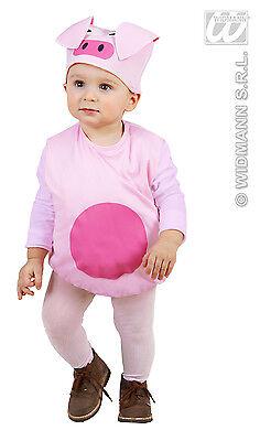 2 tlg. Kostüm Schweinchen Pig,Kinder Gr. 80-86. 1-2 Jahre, Karneval - Schweinchen Kostüm