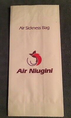 Air Sickness Bag Air Niugini