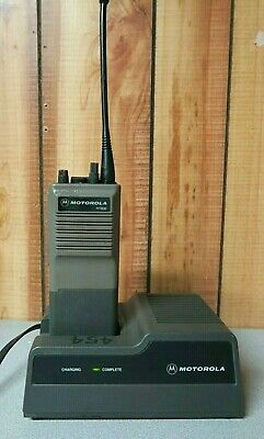 Motorola HT600 UHF Radio H44SVU7160CN 438-470 MHz with Charger. Buy it now for 39.99