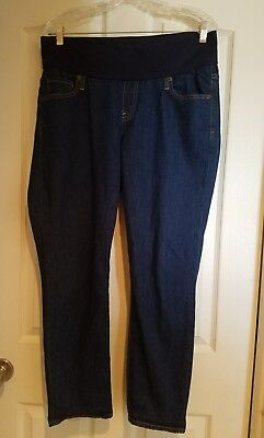 gap maternity capri jeans 32R underbelly ()