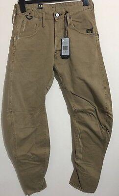 "G-Star Raw Mens 5620 3D Loose Jeans 28/"" x 32/"" BNWT Forest Denim Medium Aged T P"