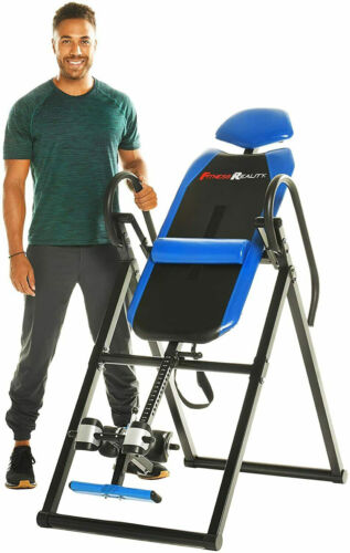 Inversion Table Teeter Machine Therapy Back Pain Relief Foldable Gravity Fitness