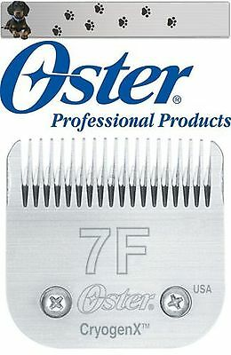 "Oster A5 Shaving Head 3,2 mm Size 7F Cryogen-X "" New "" Original Packaging "" for sale  Shipping to Ireland"