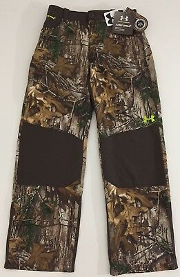 New Under Armour Youth Storm1 Field Realtree Camo Pants Boys 1259285 946 Large