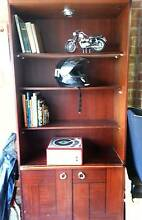 Bookcase Cupboard With Light Yowie Bay Sutherland Area Preview