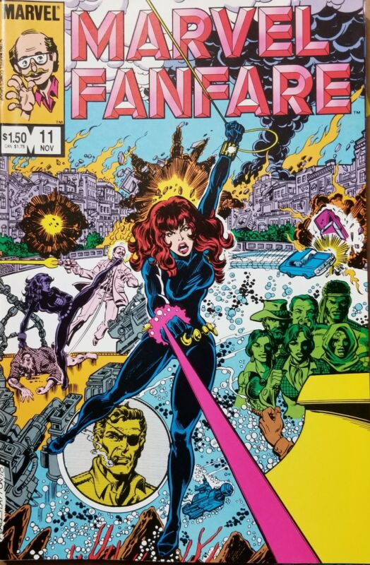 MARVEL FANFARE #11,12,13 VF+ Black Widow, Iron Maiden 1st app! Free shipping