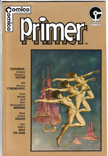 **PRIMER #5**(1983, COMICO)**1ST APP. OF MAX THE HARE**SAM KIETH ART**FN**