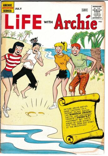 **LIFE WITH ARCHIE #3**(JUL. 1960, ARCHIE PUBLICATIONS)**BETTY VERONICA**GD**