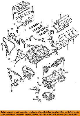 NISSAN OEM 02-03 Pathfinder 3.5L-V6 Engine-Oil Filler Tube Seal 1327631U21