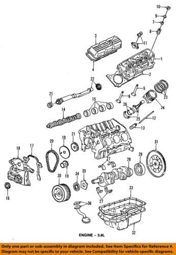 GM Oemengine Oil Pickup Tube Gasket Only 12581570 Ebay. 36 On Diagram Onlygenuine Oe Factory Original Item. Wiring. 1989 Reatta 3800 Engine Diagram At Scoala.co