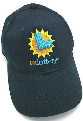 California Lottery   Ca Blue Adjustable Cap   Hat
