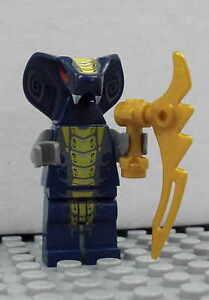 LEGO Ninjago - Slithraa - Schlange Kobra Snake Figur Minifig NEU NEW 9446