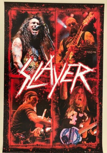 SLAYER,MUSIC BAND,AUTHENTIC LICENSED 2010 POSTER