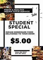 PUNJABI TIFFIN AND CATERING SERVICE $5/MEAL