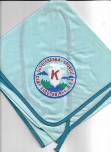 boy scout camp karoonoinha neckerchief