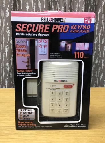 Bell Howell 7788 Secure Pro Keypad Alarm System - 3 Settings  - $15.00